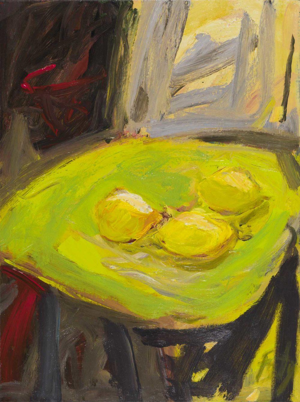 Jaune sur jaune